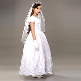 Holy Communion dresses for girls in USA