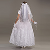 girls first communion stockings